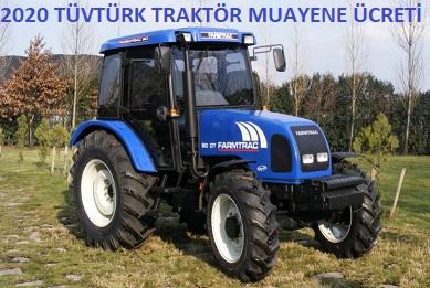 2020 Traktör Muayene Ücretleri
